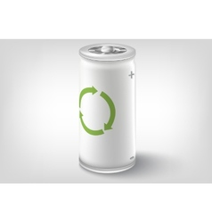 Battery icon conceptual design vector