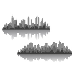 Modern cityscapes designs vector
