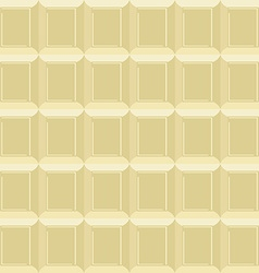 White chocolate seamless pattern Texture milk vector image