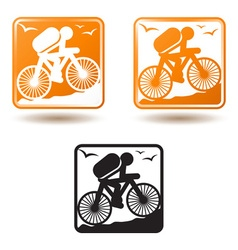 Tourism and active lifestyle vector