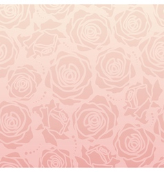 Rose romantic pattern vector