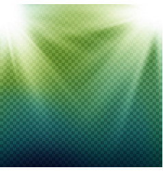 Light beam rays light effect rays vector