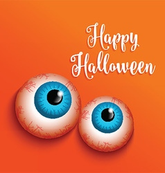 happy halloween background 2409 vector image vector image