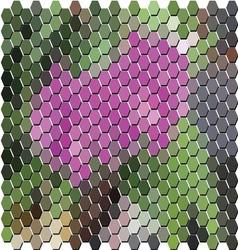 MosiacAbstract20380x400 vector image