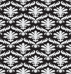 Pattern floral seamless damask flower royal vector