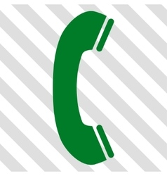 Phone receiver icon vector