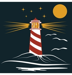 Lighthouse vector