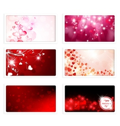 Valentine and Wedding Greeting eCard vector image