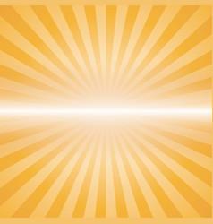 Orange color burst vector
