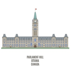 Parlament ottawa vector