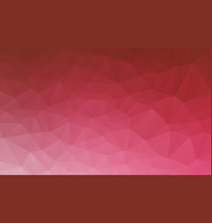 Red geometric rumpled triangular low poly origami vector