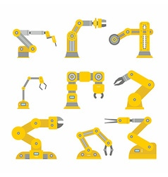 Industrial robot arm vector
