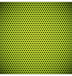 Green Seamless Circle Perforated Grill Texture vector image vector image