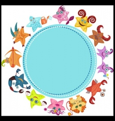 horoscope vector image vector image