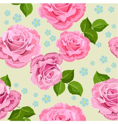 rose seamless2 vector image