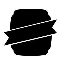 Black icon emblem vector