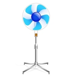 Working floor fan vector