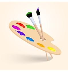 Art color palette vector image vector image
