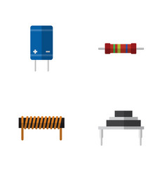 Flat appliance set of bobbin resistance vector
