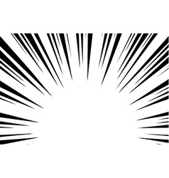 sun rays for comic books radial background vector image rh vectorstock com sun ray vector photoshop sun ray vector tutorial