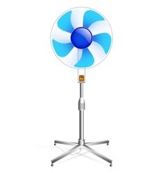 Working floor fan vector