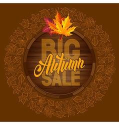 Autumn sale 09 01 vector image