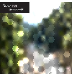 blurred web and mobile interface template vector image vector image