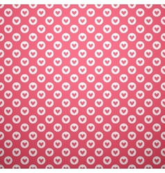 Cute different seamless pattern Pink and white vector image