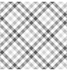 Gray diagonal check shirt seamless fabric texture vector