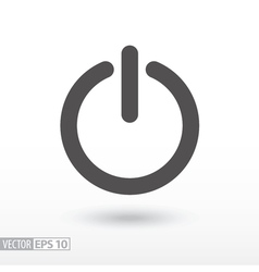 Shutdown - flat icon vector