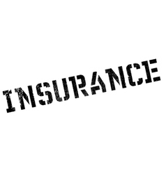 Insurance stamp rubber grunge vector
