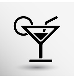 Pub wine drinks cold liquid logo cocktail vector