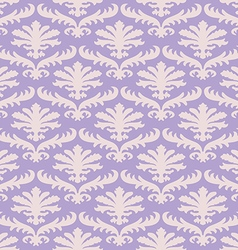 damask seamless floral pattern background vector image vector image