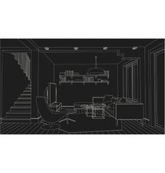 Interior vector image vector image