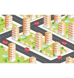 urban area1 vector image vector image