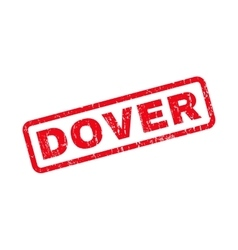 Dover rubber stamp vector