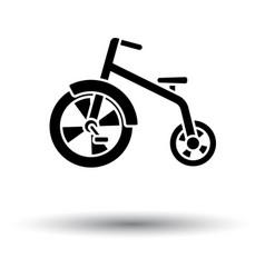baby trike ico vector image vector image