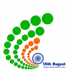 For independence day of india vector