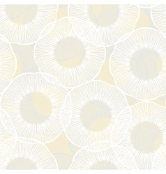 Hand drawn seamless texture with circles vector