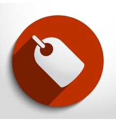 Label web icon vector