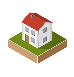Village house vector