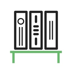 Bookstand vector image