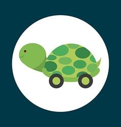 baby toy design vector image vector image