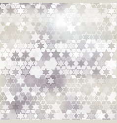 Gray star background vector