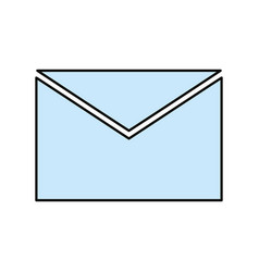Mail or email symbol vector