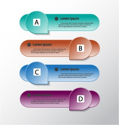 Modern design banners template graphic vector image vector image