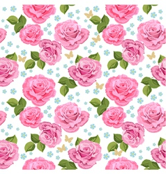 Rose seamless3 vector