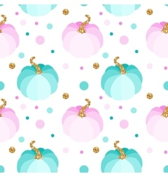 seamless pattern with pink and blue vector image vector image