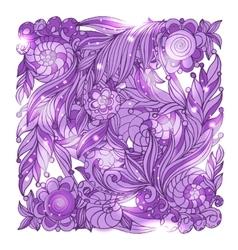 Fairy hand drawn doodle style bandana vector
