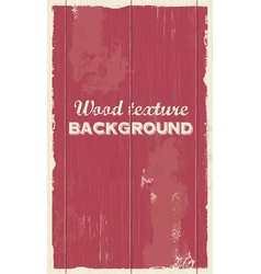 Wood background texture vector image